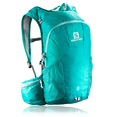 Salomon Trail 20 Running Backpack - Teal Blue/Bubble Blue