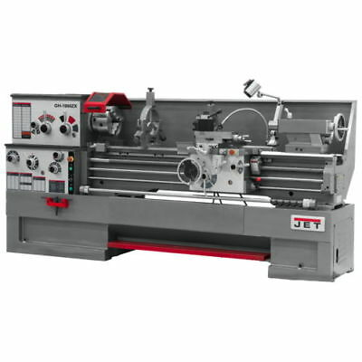 New Jet Gh-1860Zx Large Spindle Bore Lathe With Newall Dp700 Dro 321485