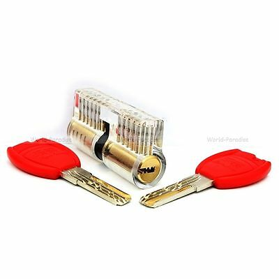lockpicking training lock pick set tools unlocking crochetage padlock practice !
