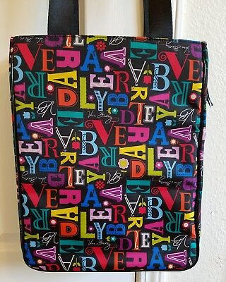 Vera Bradley Laptop Bag, Wipeable, Checkpoint Friendly