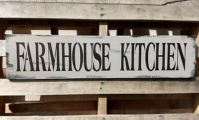 FARMHOUSE wood sign KITCHEN rustic large welcome laundry gray home decor country