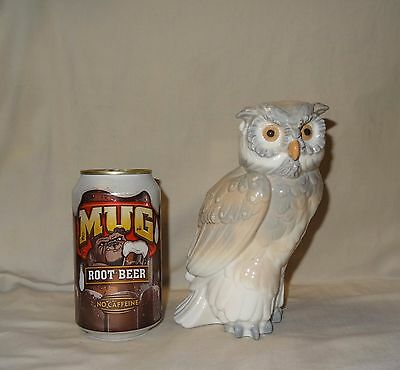 Vintage LLADRO  Owl Porcelain Figurine  Hand Painted  Made in Spain 1979 NAO