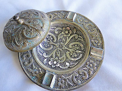 Vintage Silverplated Ash Tray