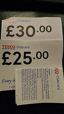 Tesco Clubcard vouchers £55 in value ( worth up to 4x more)