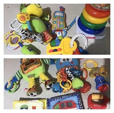 Baby Toddler Toys , Soft Toys Book And Rattles 11 Toys
