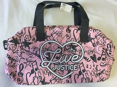 3fe36b06f0c1 Live Justice Girls Duffle Bag New With Tags