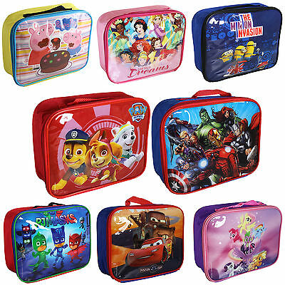 'Back to School' Disney / TV Character Insulated Lunch / Cool Bag