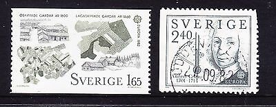 Sweden 1982 - Europa - Complete set - Mixed