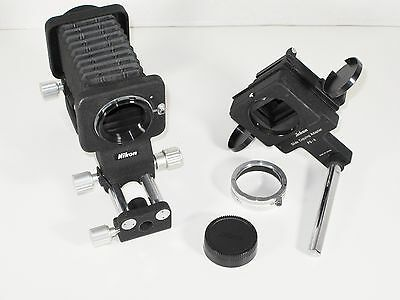 Nikon PB-5 Bellows with PS-4 Slide Copying Attachment and BR-3 Lens Adapter