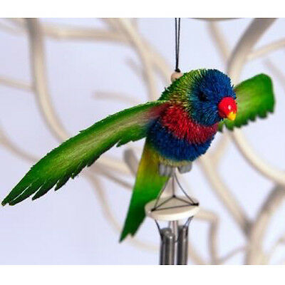 Australian Rainbow Lorikeet Bird Windchime - Ornament/gift/souvenir