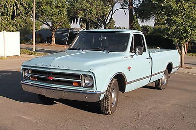 1967 Chevrolet C-10  1967 Chevrolet C10 truck long bed 283ci 3 speed