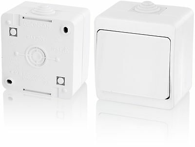 IP54Moisture-Proof on/off switchAll-in-oneFrame + Insert + Cover (Series G1Pu...