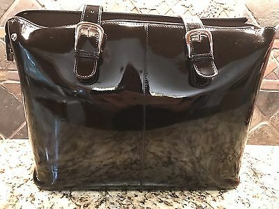 Jack Georges Leather Briefcase