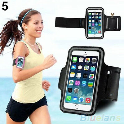 Gym Running Jogging Arm Band Sports Armband Case Holder Strap For Samsung IPhone