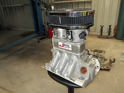 BUICK V6 VN VP VR ONLY ,Holden Commodore 1000CFM TUNNEL RAM MANIFOLD WITH FILTER