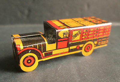1920/30s Tin Litho Delivery Truck - Cracker Jack ?