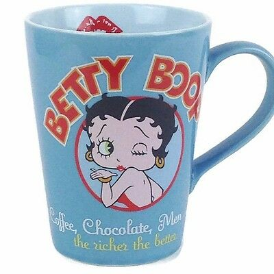 Betty Boop Tall Mug 2005 Coffee, Chocolate Men The Richer The Better