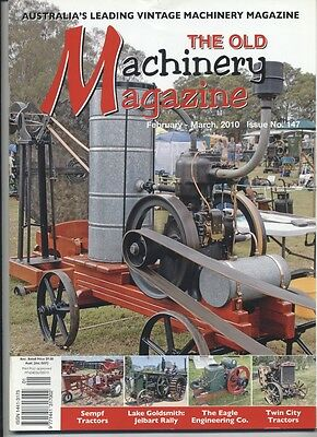 The Old Machinery Magazine TOMM  issue 147 February-March 2010