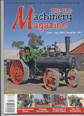 The Old Machinery Magazine TOMM  issue 149 June-July 2010