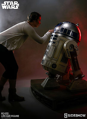 SIDESHOW Star Wars R2-D2 Life Size 1:1 Scale Figure Statue LIGHTS UP! LAST ONE!