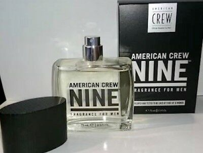 2x American Crew Classic Nine Fragrance 75 ml