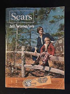 Vintage Sears Catalog 1975 Fall Winter Page 602 Controversy VGC Collectible
