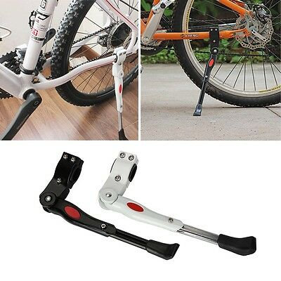 Aluminum Bicycle Bike Side Kickstand Prop Kick Stand Foot Brace Adjustable CA