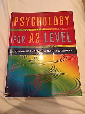 Psychology For A2 Level Eyesneck And Flanagan