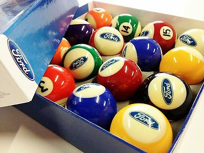 """FORD- Official Licensed POOL BALL Set 2"""""""