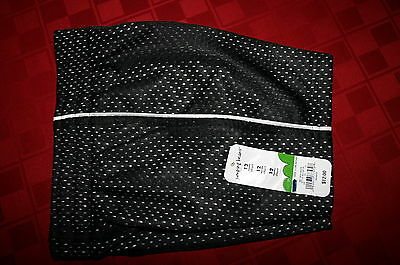 Toddler Boys Jumping Beans Mesh Athletic Shorts Black With White 12 Mo. Nwt