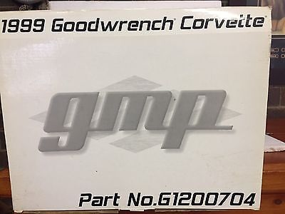 Gmp Goodwrench Corvette. 1:12 Scale. Limited Edition.