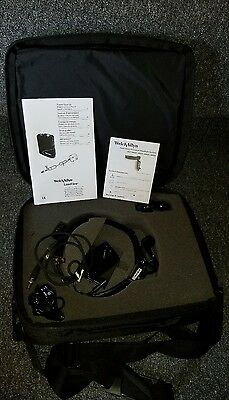 WELCH ALLYN #49020-M HEADLIGHT SYSTEM IN CARRY CASE-COMPLETE SET in box