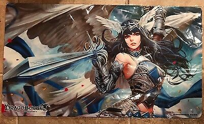DragoBorne Rise To Supremacy TCG Card Game Playmat - Rally To War NEW