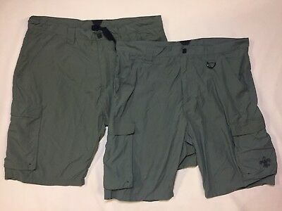 2 BOY SCOUTS of AMERICA BSA Switchback Official Uniform Shorts Only Mens Large