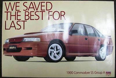 VN COMMODORE SS GROUP A FACTORY POSTER ORIGINAL 1990s DEALER POSTER not brochure