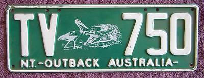 Tourist Vehicle Nt  License Number Plate # Tv-750