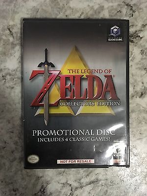***zelda Legend Of, Collector's Edition Nintendo Gamecube Complete*** Read***