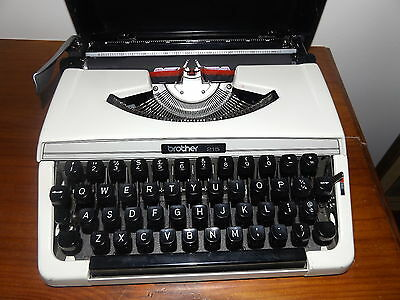Brother Portable Typewriter 215 Excellent Working Condition
