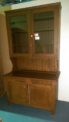 Australian Colonial Kauri Pine Kitchen Dresser Buffet Hutch Sideboard