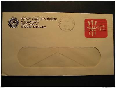 USA Wooster Canton Ohio 1980 Rotary Club Cach Corner Stationery