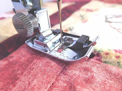 Stitch-In-The Ditch Foot -Singer, Toyota, Brother, Janome, W/front Load Bobbins