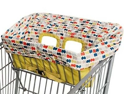 Skip Hop 2 In 1 On The Go Grocery Cart High Chair Cover