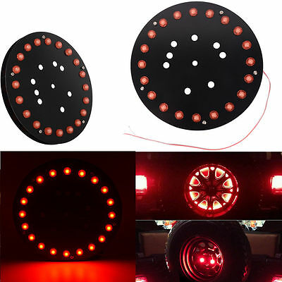 Spare Tire Wheel Third Brake Light LED For Jeep Wrangler YJ TJ JK 1986-2017
