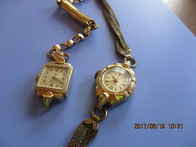 Vintage Peerless And Titus Gold Watches