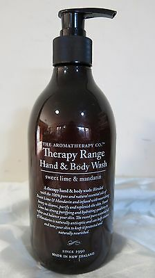 The Aromatherapy Co Therapy Range Hand & Body Wash Sweet Lime & Mandarin  500ml