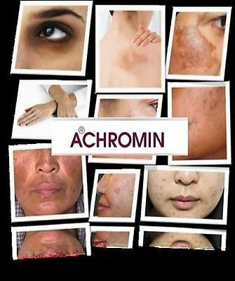 Orig. ACHROMIN® Skin Whitening face cream 45ml-UV,Anti dark age,Spots,Freckles