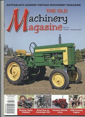 The Old Machinery Magazine TOMM  issue 151 October- November 2010