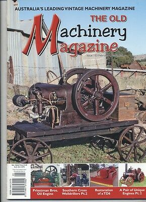 The Old Machinery Magazine TOMM  issue 153 February-March 2011