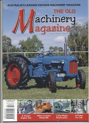 The Old Machinery Magazine TOMM  issue 154 April-May 2011