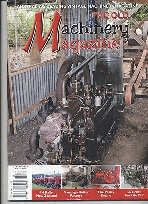The Old Machinery Magazine TOMM  issue 155 June-July 2011